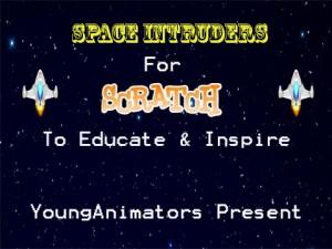 SpaceIntruders Title